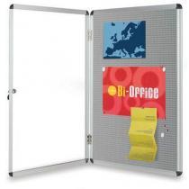 Kovová vitrína Bi-Office Earth-it