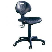 Pracovní židle Nelson SY s tvrdými kolečky