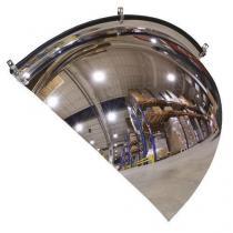 Kontrolní parabolické zrcadlo, rohová výseč, 800 mm