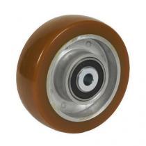 Polyuretanové pojezdové kolo, průměr 125 mm, valivé ložisko