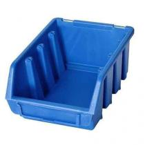Plastový box Ergobox 2 7,5 x 16,1 x 11,6 cm, modrý