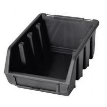 Plastový box Ergobox 2 7,5 x 16,1 x 11,6 cm,  černý