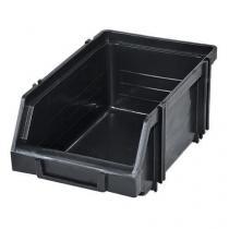 Plastový box Modul box 1.1. 7,5 x 11 x 16,5 cm, černý