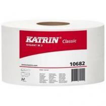 Toaletní papír Katrin Classics Gigant 2vrstvý, 23 cm, 1 440 útržků, 75% bílá, 6 rolí