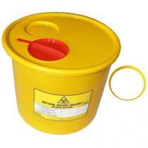 Nádoba na zdravotnický odpad, žlutá, 10 l