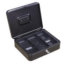 Přenosná pokladna, černá, 9 x 30 x 24 cm