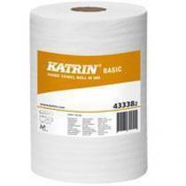 Papírové ručníky Katrin Basic M 1vrstvé, 300 m, šedé, 6 ks