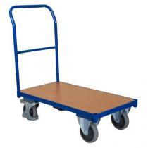 Plošinový vozík s madlem, do 400 kg