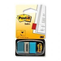 Samolepicí záložky Post-it, 6 ks, azurové