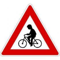 Dopravní značka Cyklisté (A19)