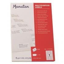 Samolepící etikety Manutan A4