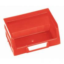 Plastový box Manutan  5,5 x 10,3 x 9 cm, červený
