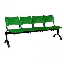 Lavice Visio, čtyřmístná, zelená