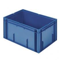 Stohovatelná plastová přepravka PP Manutan, 60 l