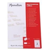 Samolepící etikety Manutan A5