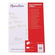 Samolepící etikety Manutan, 3,8 x 2,1 cm