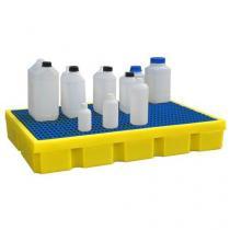 Plastová záchytná vana s roštem, kapacita 100 l