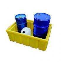 Plastová záchytná vana bez roštu, kapacita 200 l