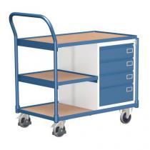 Dílenský vozík, 98 x 112,5 x 62,4 cm