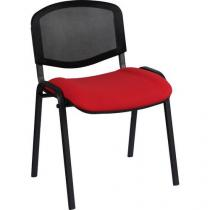 Konferenční židle ISO Mesh, červená