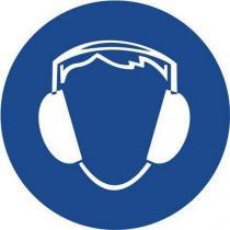 Příkazové bezpečnostní tabulky - Používej chrániče sluchu