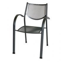 Kovová zahradní židle Ivy