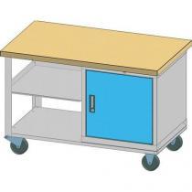 Mobilní dílenský stůl, 81 x 120 x 70 cm