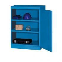 Dílenská skříň na nářadí, 104 x 80 x 43,5 cm, modrá/modrá
