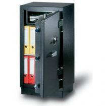 Trezorová skříň NHD 145, bezpečnostní třídy 3, šedá