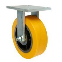Polyuretanové transportní kolo s přírubou, průměr 250 mm, valivé ložisko