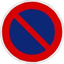 Dopravní značka Zákaz stání (B29)