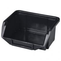 Plastový box Ecobox mini 5 x 11 x 9 cm, černý
