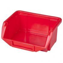 Plastový box Ecobox mini 5 x 11 x 9 cm, červený