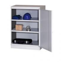 Dílenská skříň na nářadí, 104 x 80 x 43,5 cm, šedá/šedá