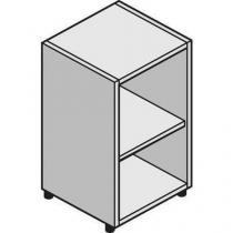 Nízká úzká skříň System, 86 x 43 x 45 cm, otevřená