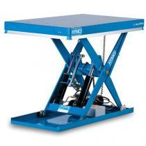Hydraulický zvedací stůl, do 1 000 kg, deska 120 x 80 cm