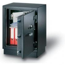 Trezorová skříň NHD 180, bezpečnostní třídy 3, šedá