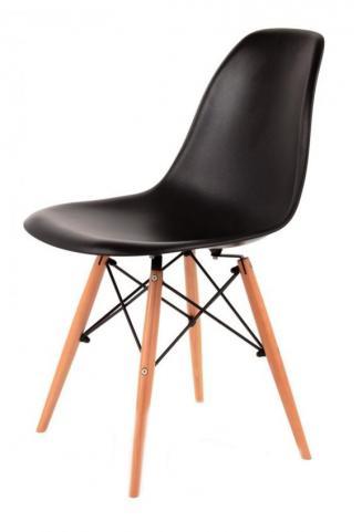 Kuchyňské židle Sedia plastové ENZO černá
