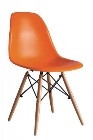 Kuchyňské židle Sedia plastové ENZO oranžová