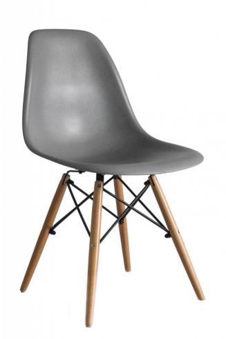 Kuchyňské židle Sedia plastové ENZO šedá
