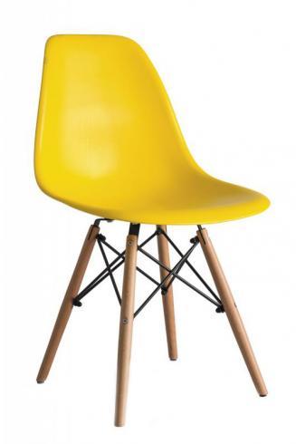 Kuchyňské židle Sedia plastové ENZO žlutá