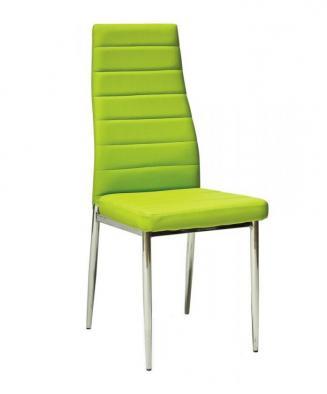 Sedia kovové Kuchyňská židle H261 zelená