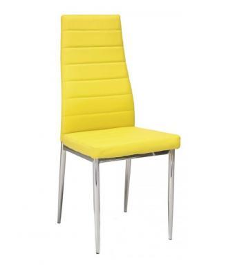 Sedia kovové Kuchyňská židle H261 žlutá