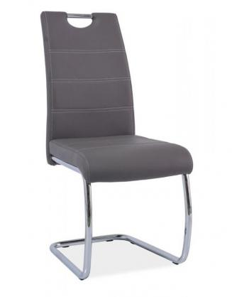 Sedia kovové Kuchyňská židle H666 šedá