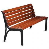 Parková lavička Simply s opěradlem