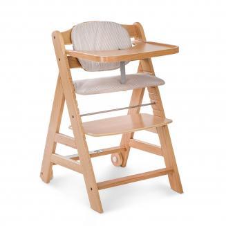 Jídelní židličky HAUCK Hauck Beta+ 2019 židlička dřevěná natur