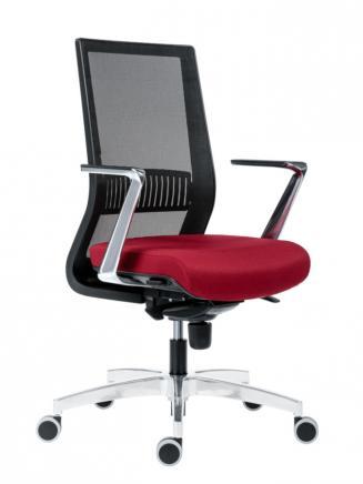 Kancelářské židle Antares Kancelářská židle 1990 SYN TITAN MESH ALU
