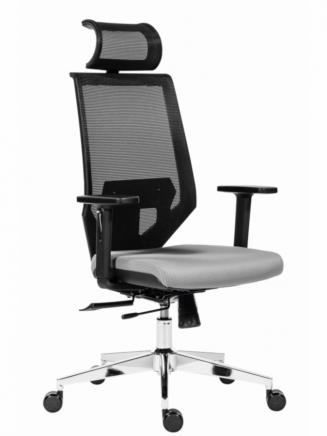 Kancelářské židle Antares Kancelářská židle Edge šedá