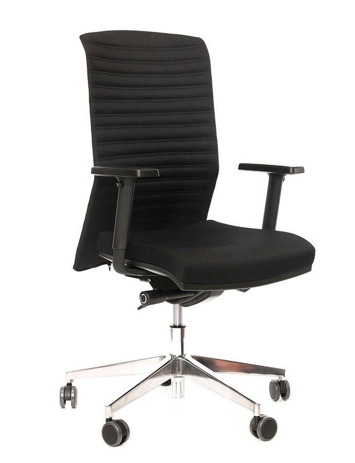 Kancelářské křeslo Alba - Kancelářské křeslo REFIRE černý