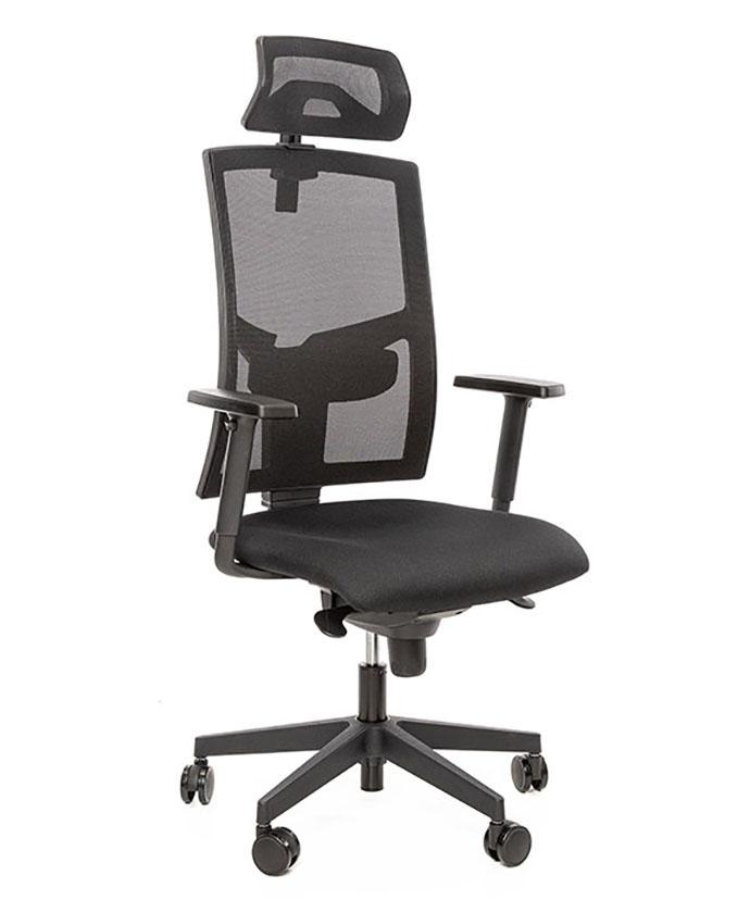 Kancelářské židle Alba - Kancelářská židle Game šéf Černá